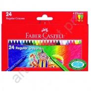 Карандаши восковые Faber Castell 24 цвета