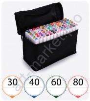 """Эскиз-маркеры """"Touchfive"""" Набор для дизайнеров одежды 30 цветов"""
