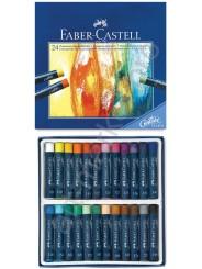 Пастели масляные Faber  Castell 24 цвета