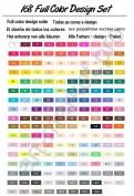 """Эскиз-маркеры """"Touchfive"""" Набор для анимации и дизайна 30 цветов"""