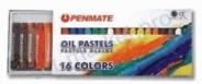 Пастель масляная PENMATE 16 цветов