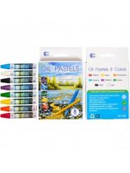 "Восковые карандаши ""OIL PASTELS"" 8 цв"