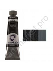 Краска масло Van Gogh цвет 702 Сажа газовая