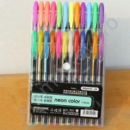 """Набор гелевых ручек """"Neon Color"""" 24 цвета"""