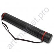 Тубус пластиковый черный d-105 мм., длина 64 -108 см.
