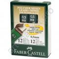 Грифели для карандашей Faber Castell (B) блистер 0,5 мм. 12 шт