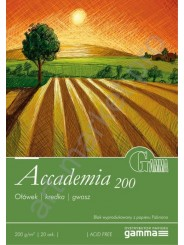 Бумага-склейка для рисования Fabriano Accademia (16х22.5), 200г / м2