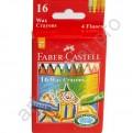 Карандаши цветные Faber Castell 16 цветов. восковые