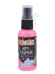 Краска-спрей акриловая «Decola» Арт-спрей Розовая