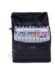 Профессиональные маркеры для скетчинга Touchfive 60 цветов. Набор для дизайнеров одежды