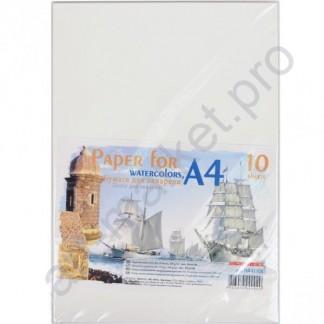 Бумага акварельная А4