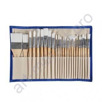 Профессиональный набор кистей для рисования «CONDA» 24 шт