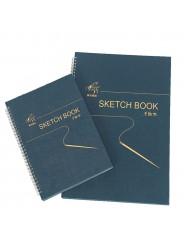 Скетчбук (Sketch book) 32 листа, 160 г/м2 , 19*27 см.