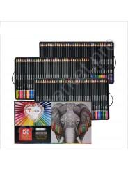 Набор цветных карандашей для рисования  YOVER  120 цветов