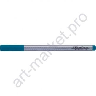 Ручка капиллярная Faber-Castell Grip Finepen 0,4 мм бирюзовый